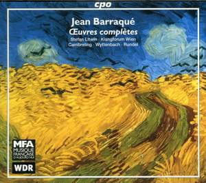Jean Barraqué - Complete Works