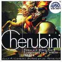Cherubini: Requiem, Symphony & Overture to Medee