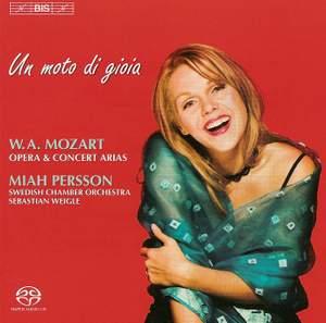 Mozart - Un moto di gioia: Opera and Concert Arias