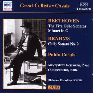 Beethoven & Brahms: Cello Sonatas