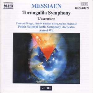 Messiaen: Turangalila Symphony & L'Ascension Product Image