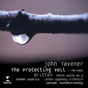 Tavener: The Protecting Veil & Thrinos and Britten: Solo Cello Suite No. 3 Product Image