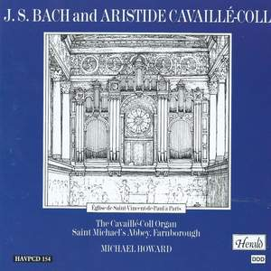 J. S. Bach and Aristide Cavaillé-Coll Product Image