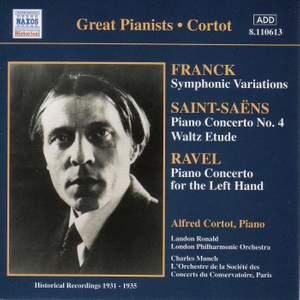 Franck: Symphonic Variations, Saint-Saëns: Piano Concerto No. 4