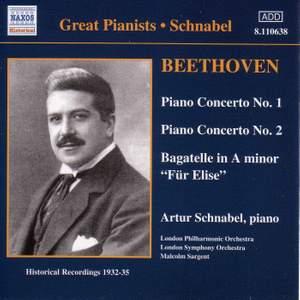 Beethoven: Piano Concertos Nos. 1 & 2 and Für Elise