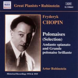 Chopin: Polonaises (selection), Andante spianato & Grande polonaise brilliante
