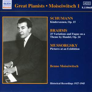 Great Pianists - Moiseiwitsch 1