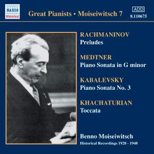 Great Pianists - Moiseiwitsch 7
