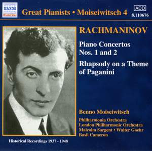 Great Pianists - Moiseiwitsch 4