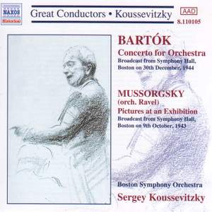 Serge Koussevitzky Product Image