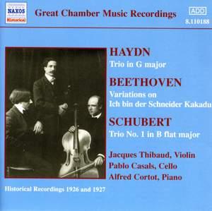 Haydn & Schubert: Piano Trios