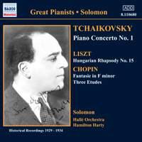 Great Pianists - Solomon