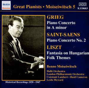 Great Pianists - Moiseiwitsch 5