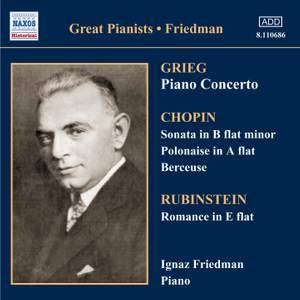 Great Pianists - Ignaz Friedman Product Image
