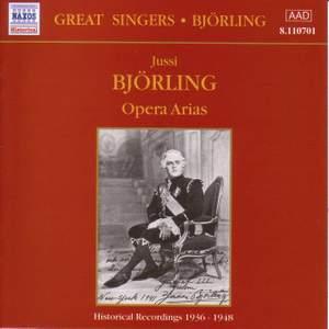 Jussi Bjorling - Opera Arias