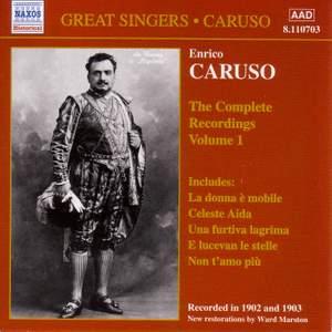 Enrico Caruso - Complete Recordings, Vol. 1