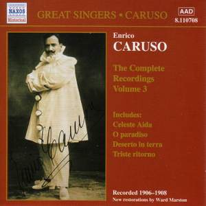 Enrico Caruso - Complete Recordings, Vol. 3