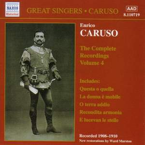 Enrico Caruso - Complete Recordings, Vol. 4