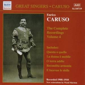 Enrico Caruso - Complete Recordings, Vol. 4
