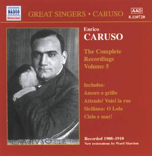 Enrico Caruso - Complete Recordings, Vol. 5