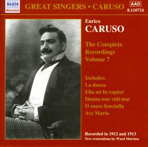 Enrico Caruso - Complete Recordings, Vol. 7