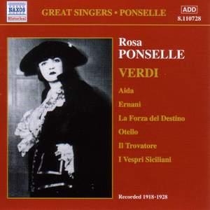 Rosa Ponselle sings Verdi (1918-1928) Product Image