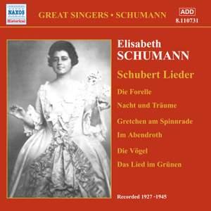 Elisabeth Schumann - Schubert Lieder (1927-1945)