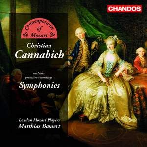 Contemporaries of Mozart - Johann Christian Cannabich Product Image