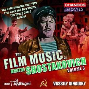 The Film Music of Dmitri Shostakovich, Volume 3