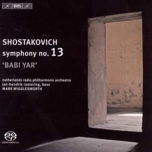 Shostakovich: Symphony No. 13 in B flat minor, Op. 113 'Babi Yar'