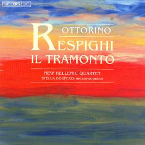 Respighi - Il Tramonto Product Image