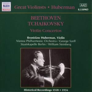 Great Violinists - Huberman