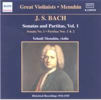 JS Bach: Sonatas and Partitas Vol. 1