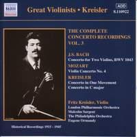 Great Violinists - Kreisler