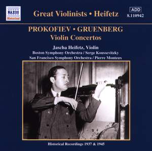 Great Violinists - Heifetz