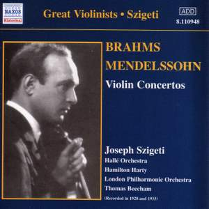 Great Violinists - Joseph Szigeti