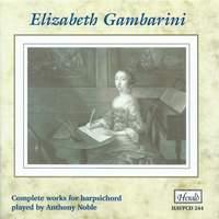 Elizabeth Gambarini - Complete works for harpsichord