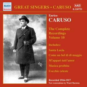 Enrico Caruso - Complete Recordings, Vol. 10
