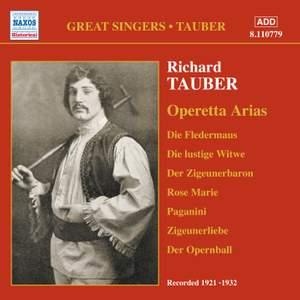 Great Singers - Richard Tauber sings Operetta Arias (1921-1932)