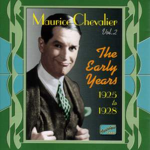 Maurice Chevalier - The Early Years (1925-1928) Product Image