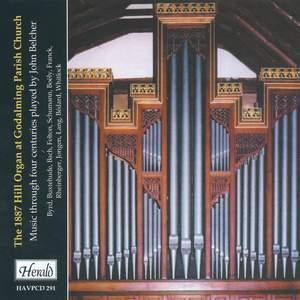 The 1887 Hill Organ at Godalming Parish Church