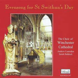 Evensong for St Swithun's Day