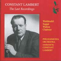 Constant Lambert - The Last Recordings