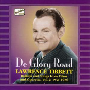 Lawrence Tibbett - De Glory Road (1931-1936)