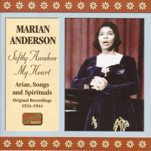 Marian Anderson - Softly Awakes My Heart (1924-1944) Product Image
