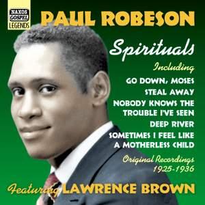 Paul Robeson - Spirituals, Vol. 1 (1925-1936)