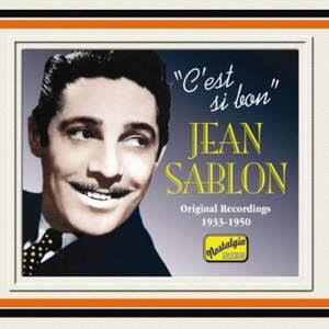 Jean Sablon - C'est si bon' (1934-1950) Product Image