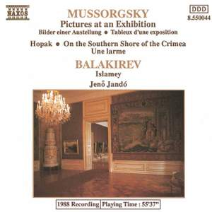 Mussorgsky: Pictures at an Exhibition & other piano works and Balakirev: Islamey