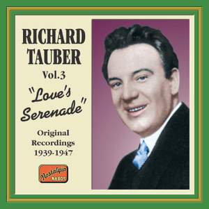 Richard Tauber - Love's Serenade (1939-1947) Product Image