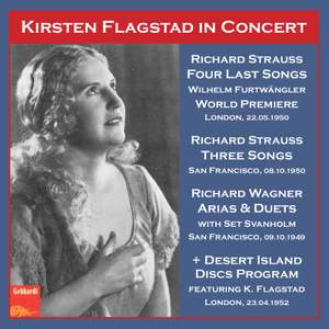 Strauss Concert 1950 & Wagner Concert 1949, with Set Svanholm Product Image